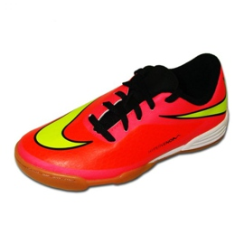 Indoor shoes Nike Hypervenom Phade Ic Jr 599842-690 red red, pink 1