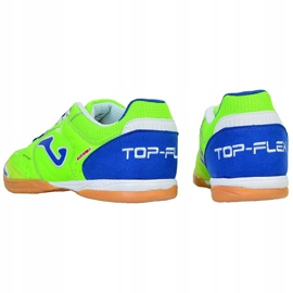 Indoor shoes Joma Top Flex 515 M TOPW.515.PS green multicolored 4