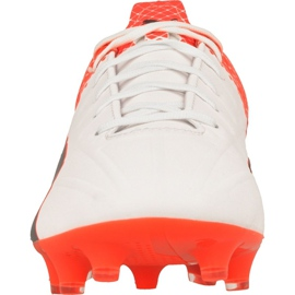 Football boots Puma evoSPEED 4.5 Tricks Fg M 10359203 white, black, red red 2