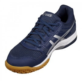 Volleyball shoes Asics Gel Rocket 8 M B706Y-4993 navy navy blue 1