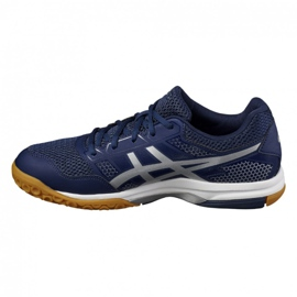 Volleyball shoes Asics Gel Rocket 8 M B706Y-4993 navy navy blue 3