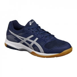 Volleyball shoes Asics Gel Rocket 8 M B706Y-4993 navy navy blue 4