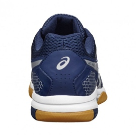 Volleyball shoes Asics Gel Rocket 8 M B706Y-4993 navy navy blue 5