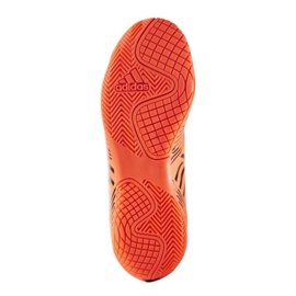 Indoor shoes adidas Nemeziz 17.4 In Jr S82467 orange multicolored 2