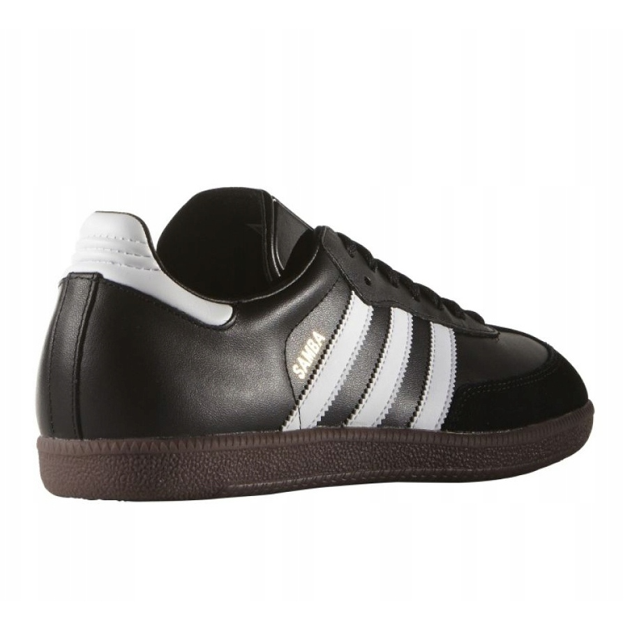 He aprendido Corte Médico  Adidas Samba In M 019000 Football Boots black black - ButyModne.pl