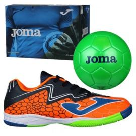 Indoor shoes Joma Super Copa In Jr SCJS.808.IN orange green 2