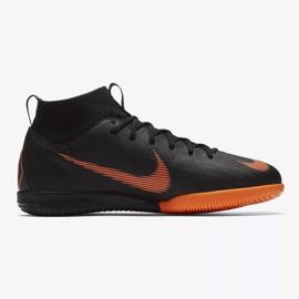 Indoor shoes Nike Mercurial SuperflyX 6 Academy Gs Ic Jr AH7343-081 orange black 1