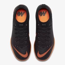 Indoor shoes Nike Mercurial SuperflyX 6 Academy Gs Ic Jr AH7343-081 orange black 2