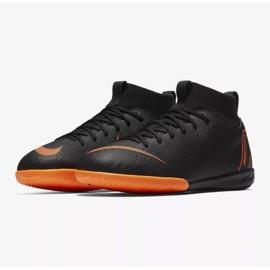 Indoor shoes Nike Mercurial SuperflyX 6 Academy Gs Ic Jr AH7343-081 orange black 3