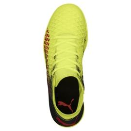 Reebok Football boots Puma Future 18.4 It Jr 104337 01 yellow yellow 1