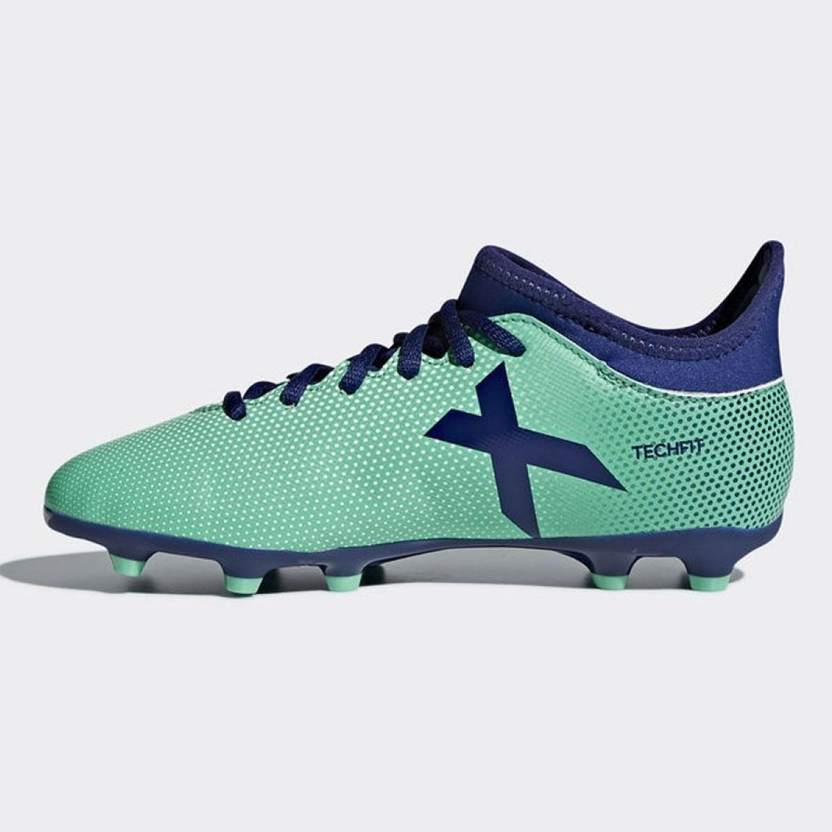 métrico La playa Barrio  Football shoes adidas X 17.3 Fg Jr CP8993 multicolored blue - ButyModne.pl
