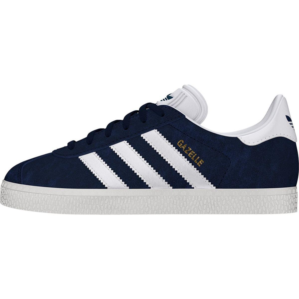 08efff1e2d0 Details about Navy Adidas Originals Gazelle Jr BY9144 shoes