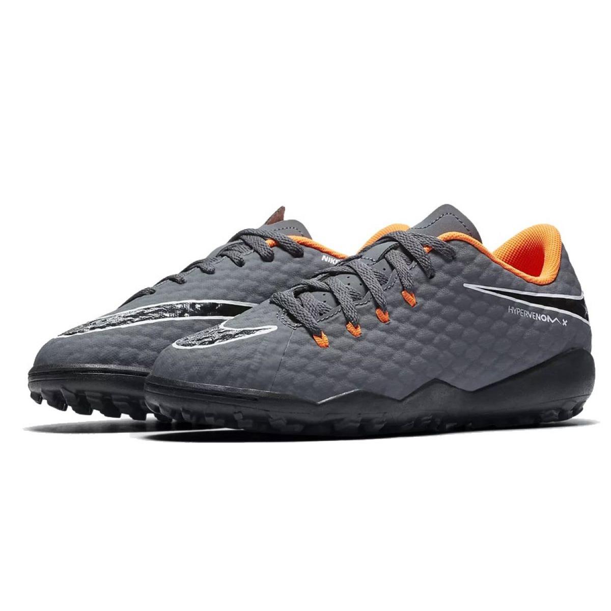quality design f7ff3 c5b3e Nike Hypervenom PhantomX 3 Academy Tf Jr AH7294-081-S Football Boots