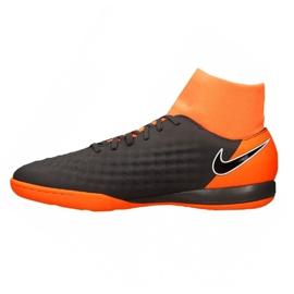 Football shoes Nike Magista Obrax 2 Academy Df Ic M AH7309-080-S gray / silver grey 1