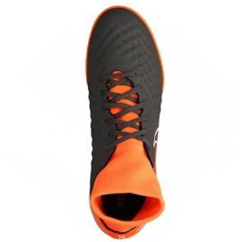 Football shoes Nike Magista Obrax 2 Academy Df Ic M AH7309-080-S gray / silver grey 2