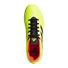 The adidas Predator Tango 18.4 Tf M DB2141 football boots yellow multicolored 1
