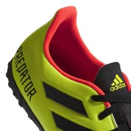 The adidas Predator Tango 18.4 Tf M DB2141 football boots yellow multicolored 3