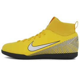 Indoor shoes Nike Mercurial SuperflyX 6 Club Neymar Ic Jr AO2891-710 multicolored yellow 1