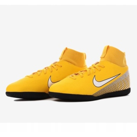 Indoor shoes Nike Mercurial SuperflyX 6 Club Neymar Ic Jr AO2891-710 multicolored yellow 3