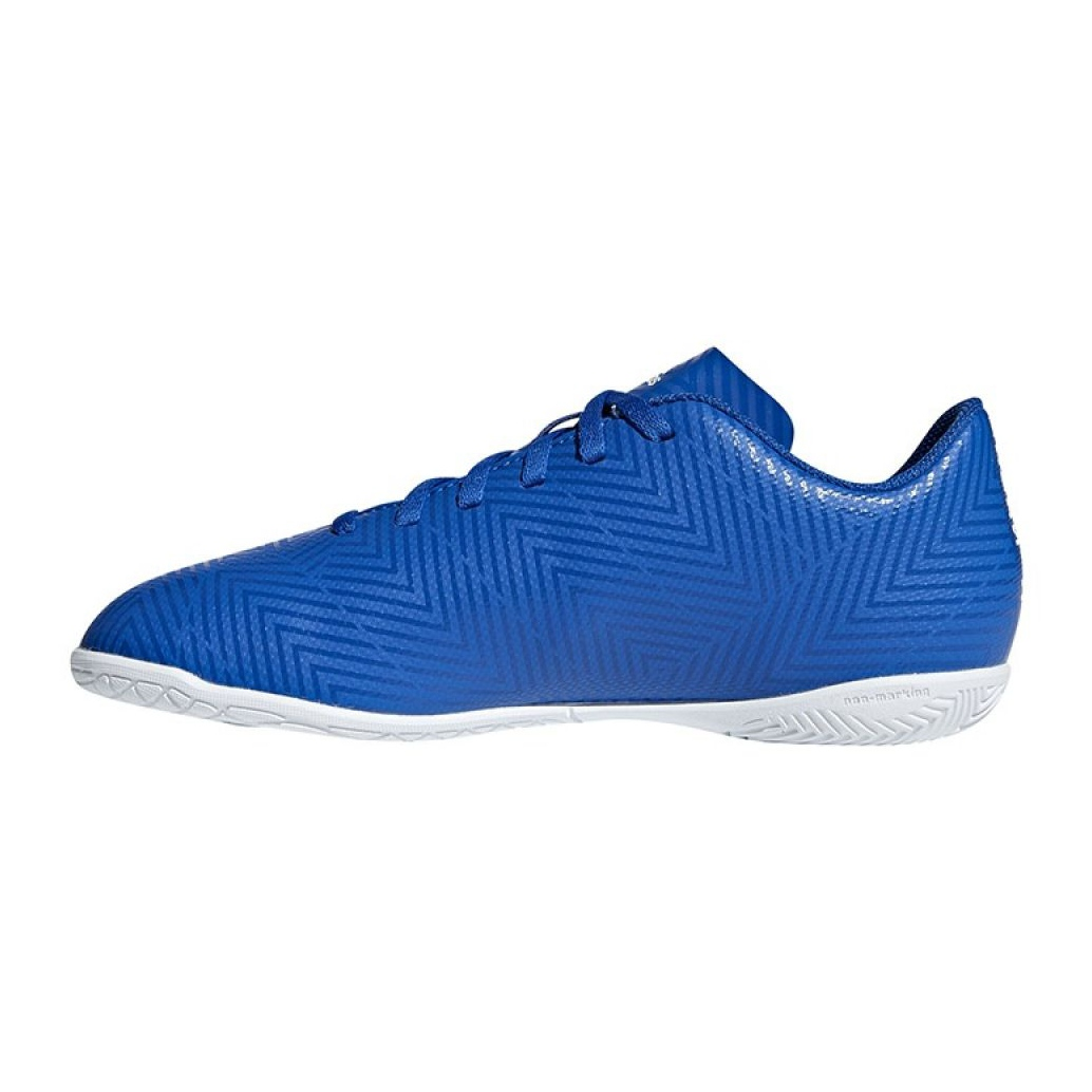 Barriga Quedar asombrado impulso  Adidas Nemeziz Tango 18.4 In Jr DB2384 football shoes blue blue -  ButyModne.pl