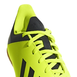 Adidas X Tango 18.4 In Jr DB2433 football shoes yellow yellow 2