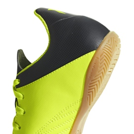Adidas X Tango 18.4 In Jr DB2433 football shoes yellow yellow 3