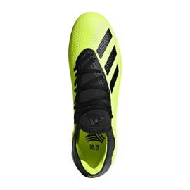 Football boots adidas X Tango 18.3 In M DB2441 yellow yellow 1