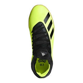Indoor shoes adidas X Tango 18.3 In Jr DB2426 yellow yellow 1