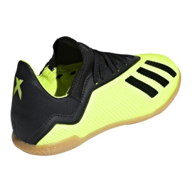 Indoor shoes adidas X Tango 18.3 In Jr DB2426 yellow yellow 2