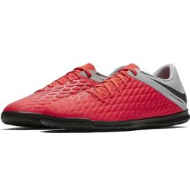 Indoor shoes Nike Hypervenom Phantomx 3 Club Ic M AJ3808-600 red red 2
