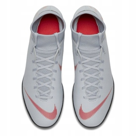 Indoor shoes Nike Mercurial Superfly 6 Club Ic M AH7371-060 white multicolored 2