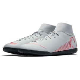 Indoor shoes Nike Mercurial Superfly 6 Club Ic M AH7371-060 white multicolored 3