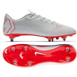 Nike Mercurial Vapor 12 Academy Sg Pro M AH7376-060 Football Shoes grey multicolored 6