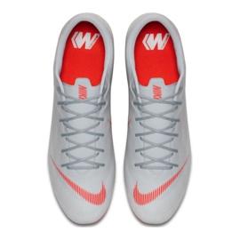 Nike Mercurial Vapor 12 Academy Sg Pro M AH7376-060 Football Shoes grey multicolored 7