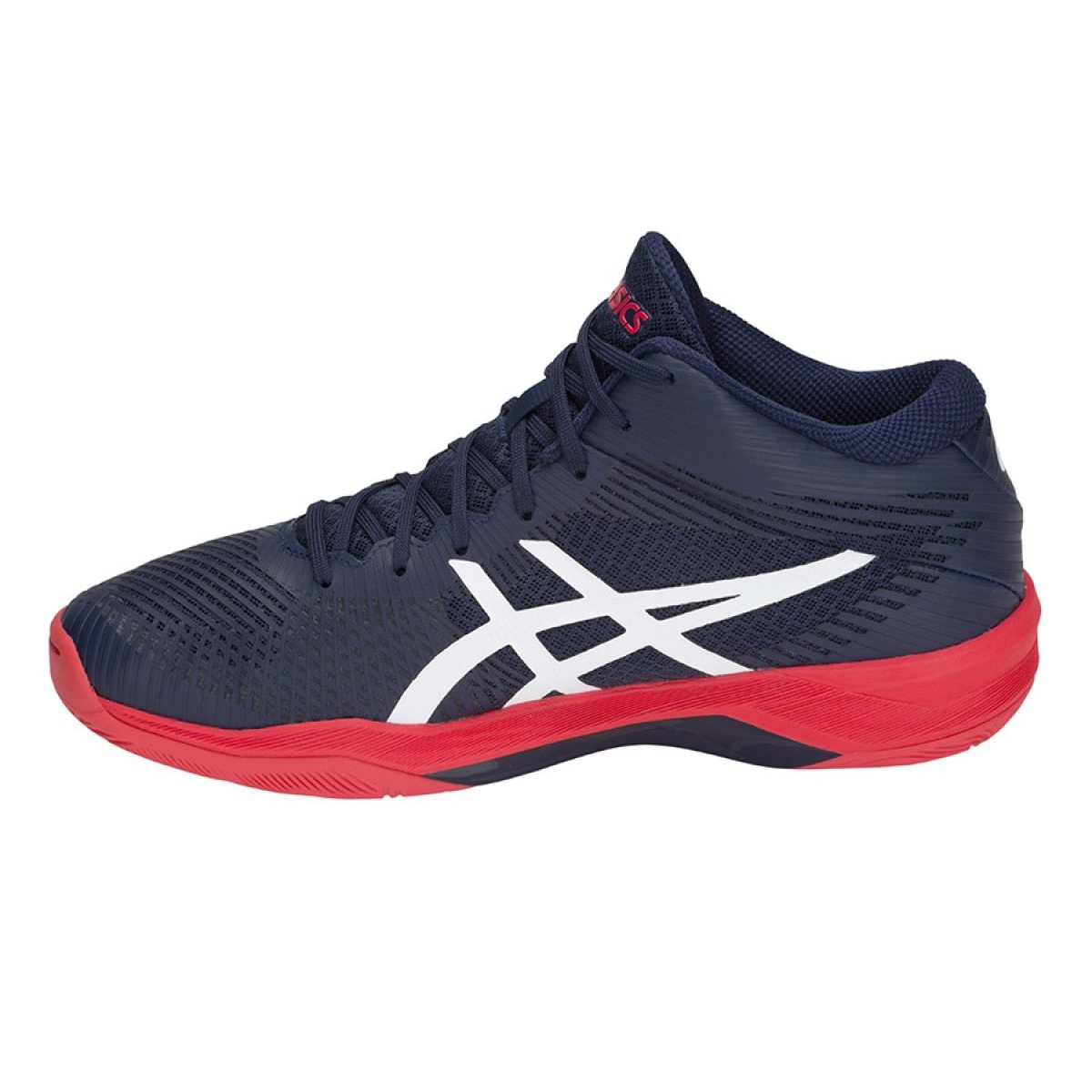 Volleyball shoes Asics Volley Elite Ff Mt M B700N-400 navy blue ...