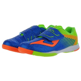 Indoor shoes Joma Tactil In Jr TACW.804.IN blue orange 2