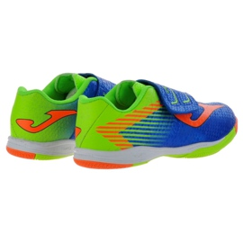 Indoor shoes Joma Tactil In Jr TACW.804.IN blue orange 3
