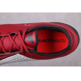 Nike Phantom Vsn Academy Tf M AO3223-606 football boots red multicolored 2