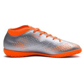 Indoor shoes Puma One 4 Son It Jr 104783 01 gray / silver silver 1
