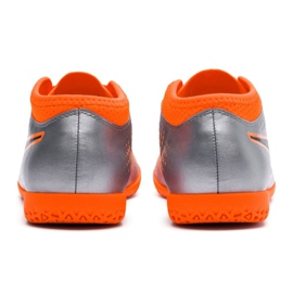 Indoor shoes Puma One 4 Son It Jr 104783 01 silver multicolored 2