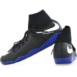 Indoor shoes Nike Hypervenom X Phelon 3 Df Ic M 917768-002 black black 2