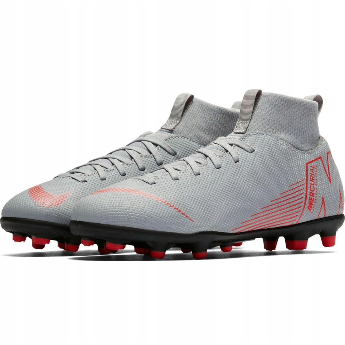 timeless design 26ad9 01b3a Football shoes Nike Mercurial Superfly 6 Club Mg Jr AH7339 060 white