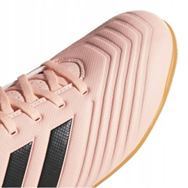 Indoor shoes adidas Predator Tango 18.4 In M DB2139 pink multicolored 3