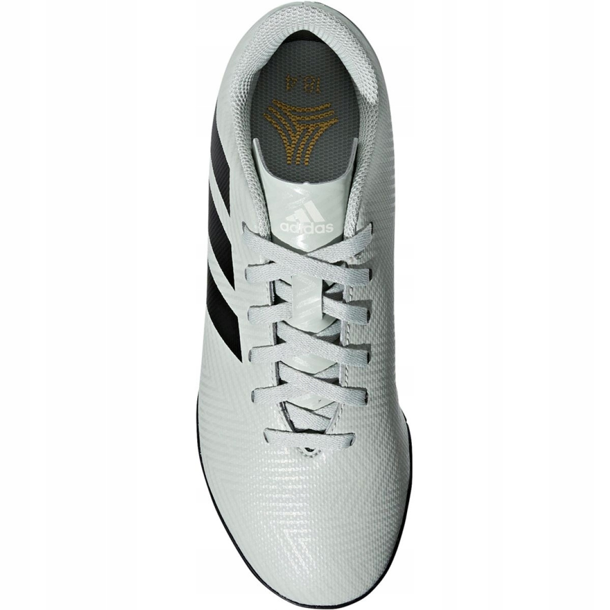 Consentimiento Firmar de ahora en adelante  Adidas Nemeziz Tango 18.4 Tf Jr DB2380 football shoes white multicolored -  ButyModne.pl