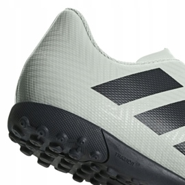 Adidas Nemeziz Tango 18.4 Tf Jr DB2380 football shoes white multicolored 4
