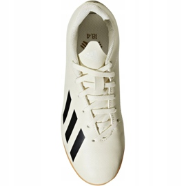 Indoor shoes adidas X Tango 18.4 In Jr DB2432 white multicolored 1