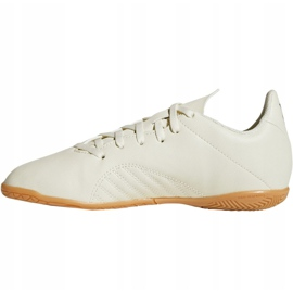 Indoor shoes adidas X Tango 18.4 In Jr DB2432 white multicolored 2