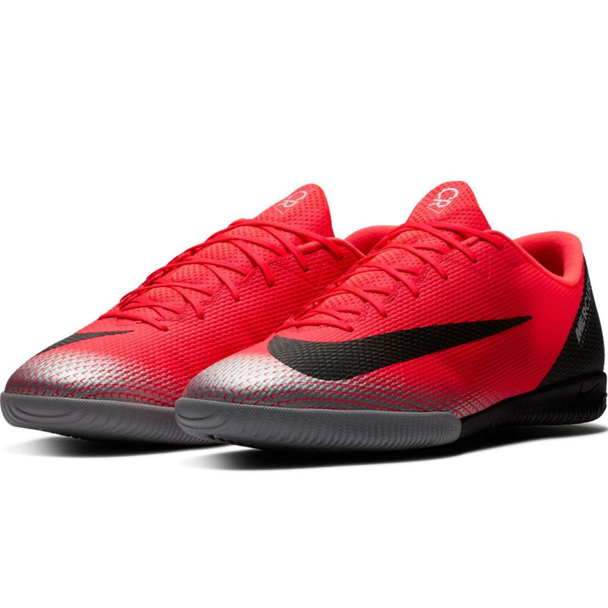 najlepsze buty najlepiej tanio najnowsza kolekcja Nike Mercurial Vapor X 12 Academy ice shoes CR7 Ic M AJ3731-600 red red