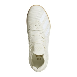 Adidas X Tango 18.3 In Jr Football Boots DB2427 white white 1