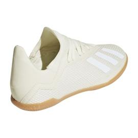 Adidas X Tango 18.3 In Jr Football Boots DB2427 white white 2